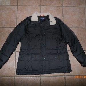 Lands End Winter Jacket Sz 1X- 16W-18W-Espresso
